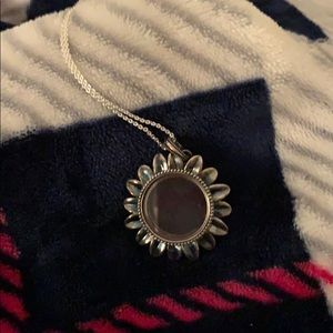 Origami Owl Sunflower Necklace